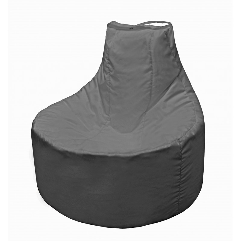 Кресло-мешок Банан Серый