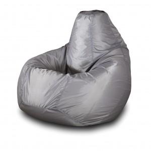Кресло-мешок Груша Серый