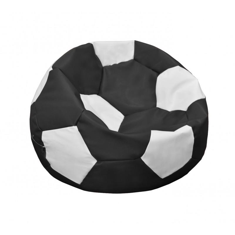 Кресло-мешок Мяч Чёрно-белый